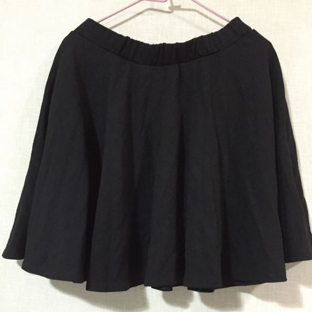 [全新]冬天黑色百搭短裙 厚款
