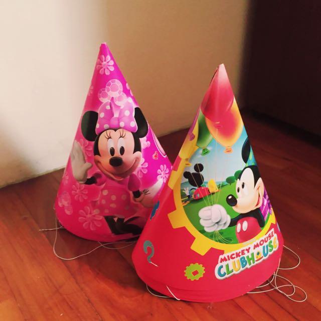 派對帽 生日帽 米奇 米妮