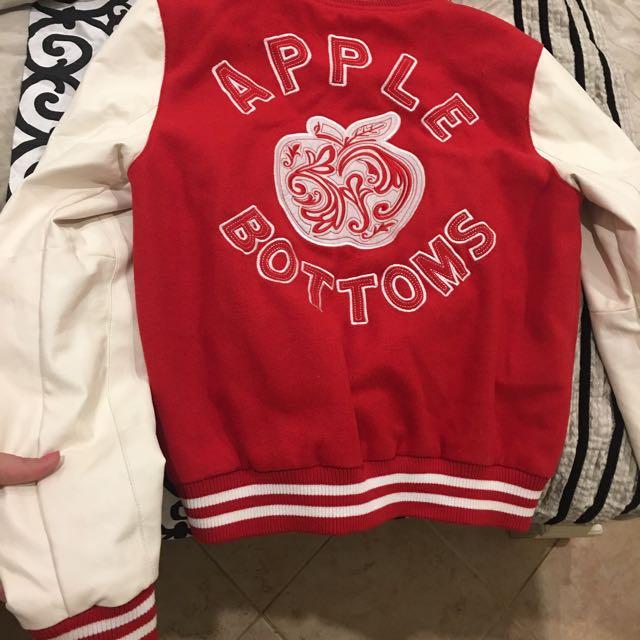 Apple Bottoms Varsity Jacket