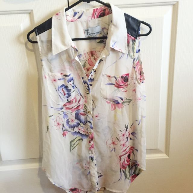 Bettina Liano Blouse | Size 8