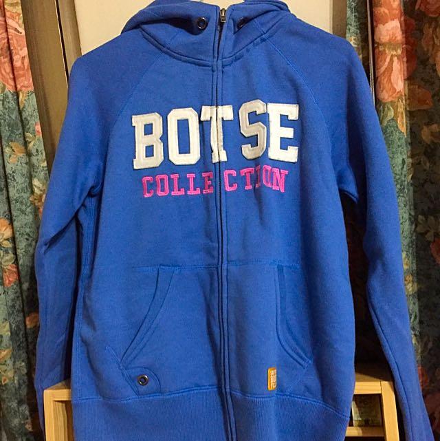 Bootsee藍色毛料外套