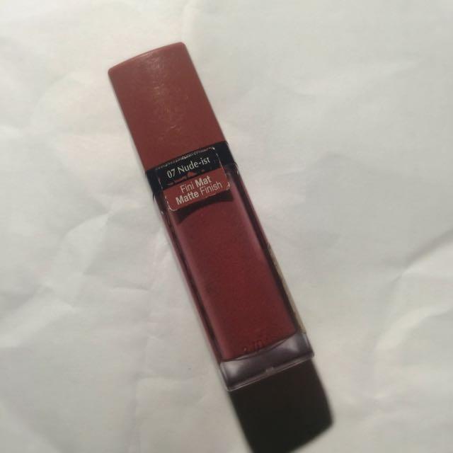 Burjois Rouge Edition Velvet #7 Nude-ist