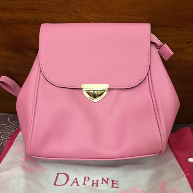 達芙妮DAPHNE 粉色後背包