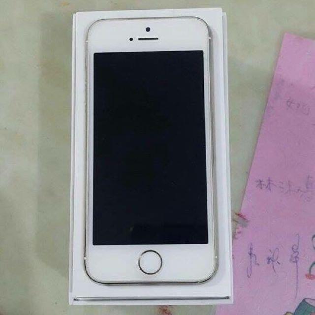 I Phone 5s 銀色