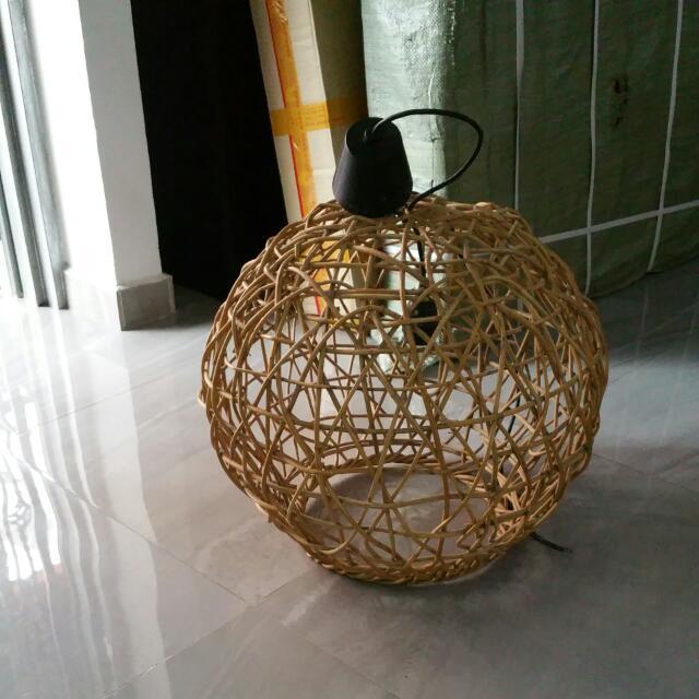 Ikea Cane Lighting For Furniture On Carou