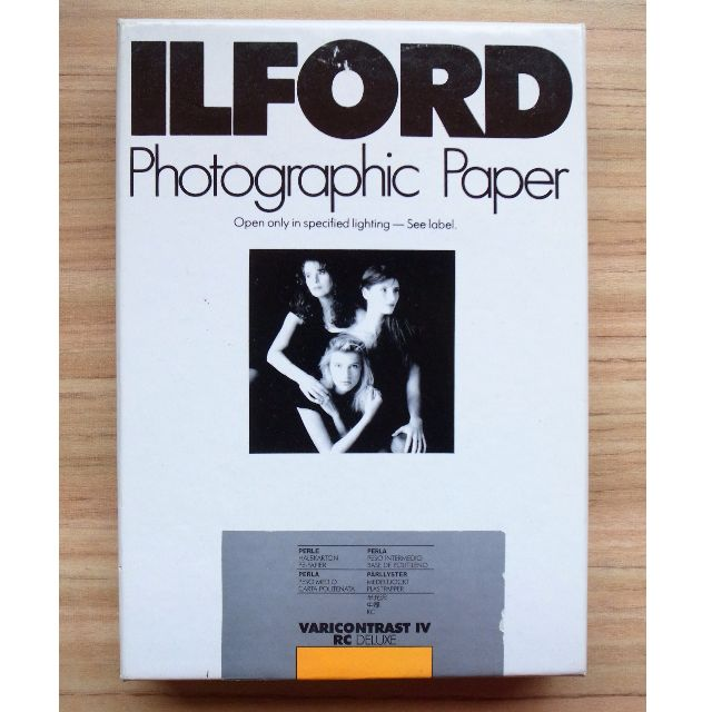 ILFORD photographic paper VARIO CONTRAST IV RC DELUXE