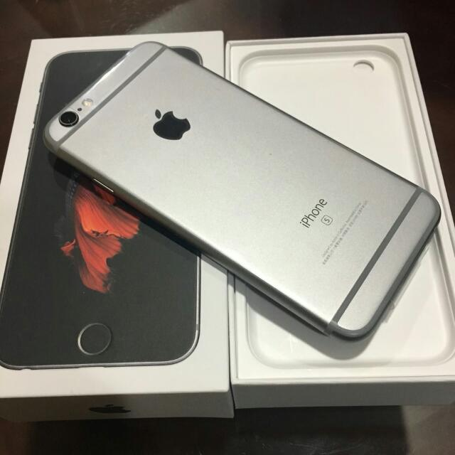 ✨全新iPhone 6s 鐵灰色 64g