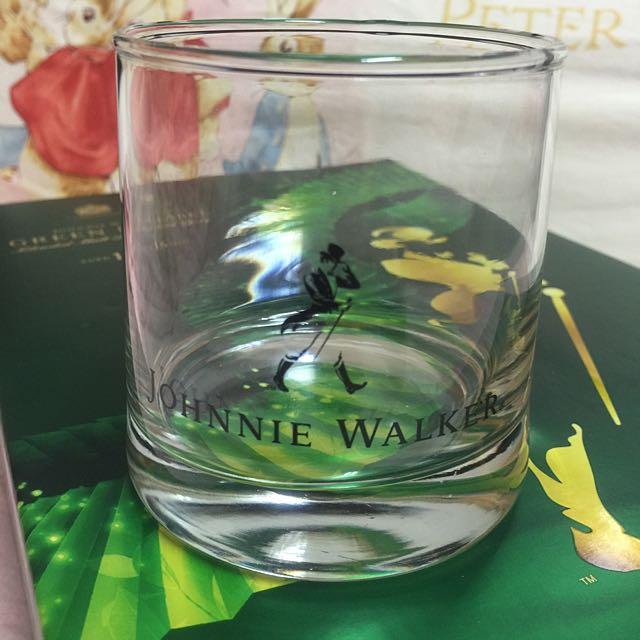 (全新)Johnnie Walker 威士忌 酒杯