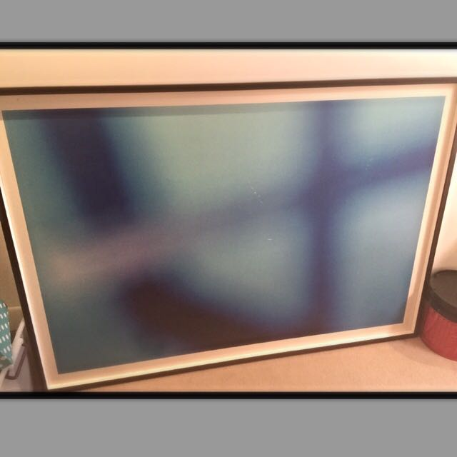 Large frame and print