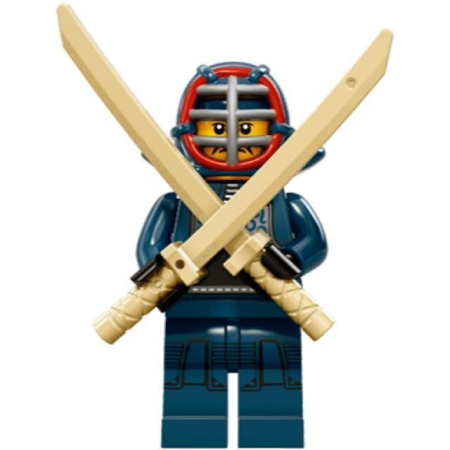Lego 樂高 Minifigures 15代 71011 劍道家