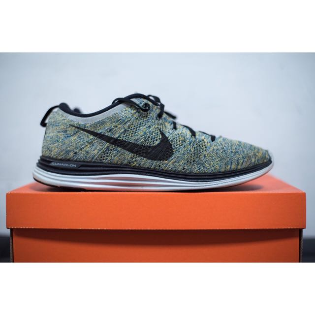 low priced detailed pictures ever popular Nike Flyknit Lunar 1 Multicolor