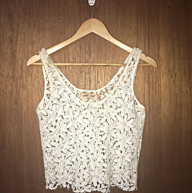 Piper Lane Crochet Crop