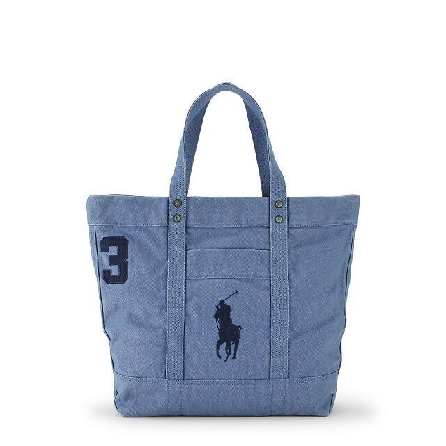(售出待面交)Polo Ralph Lauren 大馬logo/大托特/旅行袋/ 手提包