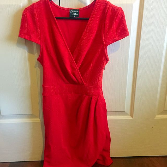 Red Dress | Size 8