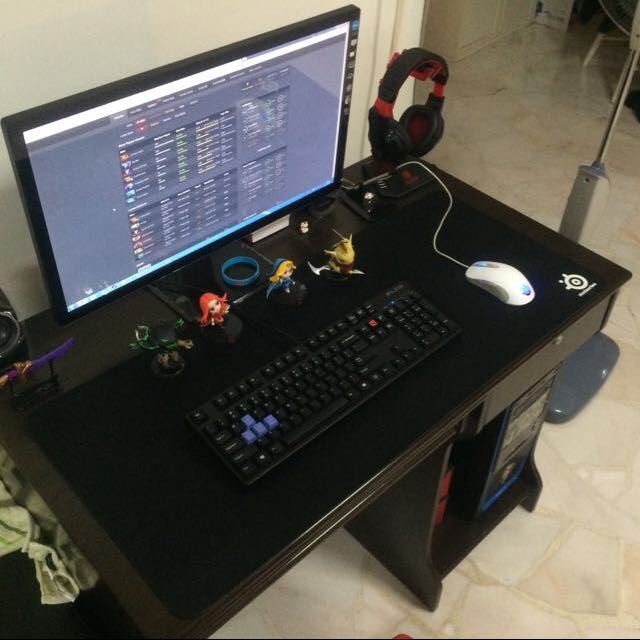 reserved) Steelseries QCK XXL mousepad, Toys \u0026 Games on Carousell