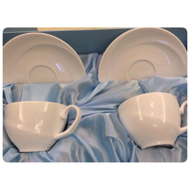 WEDGWOOD 下午茶杯組 茶杯 盤子