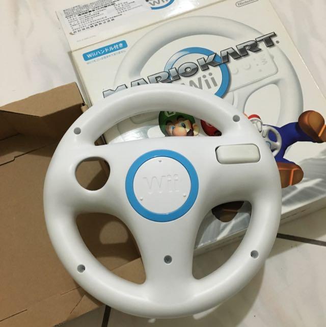 Wii 任天堂瑪莉歐賽車專用把手