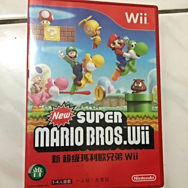 Wii 任天堂 新超級瑪莉歐兄弟