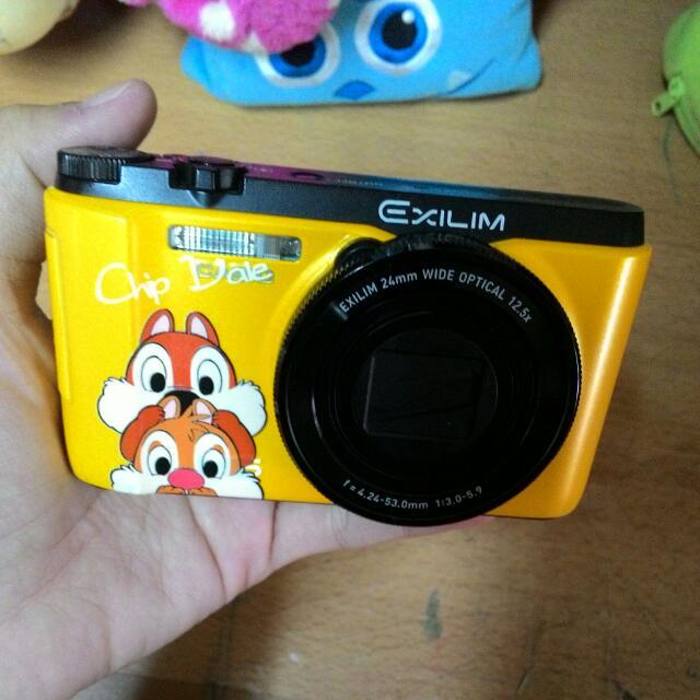 zr1200 黃色 幾乎全配 附wifi卡 急售 翻轉自拍相機 美膚 不輸TR