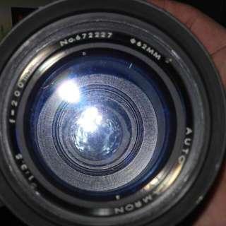 定焦    F -200m 單眼相機鏡頭  賣1  千8
