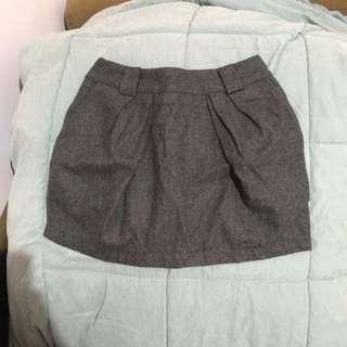 鐵灰OL裙