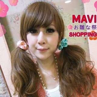 🚚 MAVIS-MM愛用滴超可愛緞面點點小小腸髮束