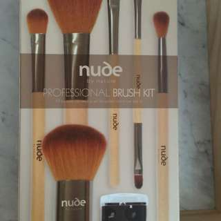 NUDE Brush Set