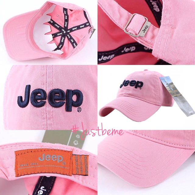 100% JEEP PINK HAT From 🇺🇸🇺🇸🇺🇸