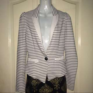Stripes Blazer - LILY