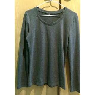 NET細織針織上衣 L(170/88A) 深灰
