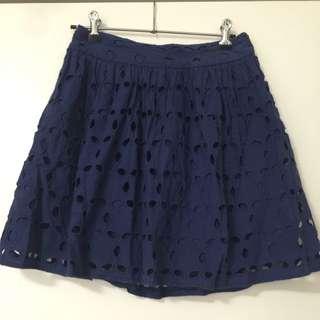 Aqua Blue Skirt