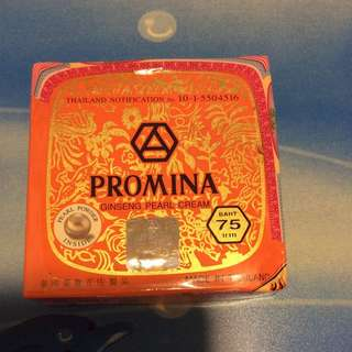 Promina Ginseng Pearl Cream 100% New