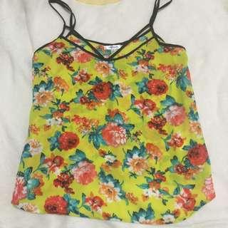 Size 8 Floral print top