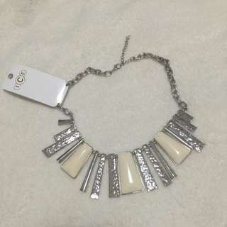 ICE Silver/white Necklace