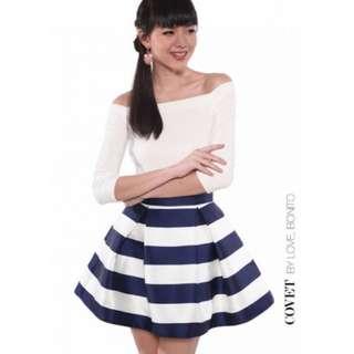 BNWT Love Bonito Skirt In Black