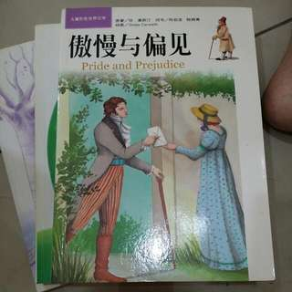 Book PRIDE AND PREJUDICE 傲慢与偏见