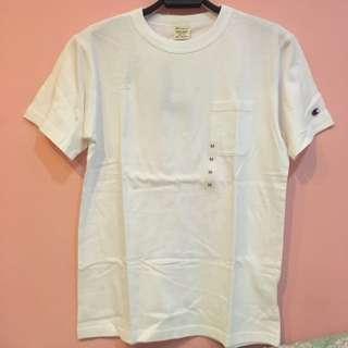 東京連線✨✨Champion t-shirt 白