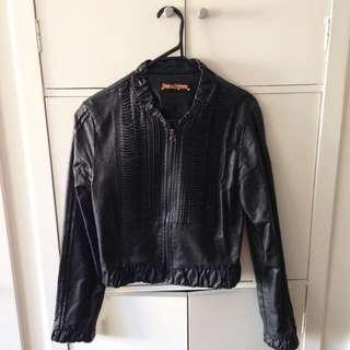 Princess Highway Leather Jacket | Size 10