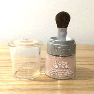 L'Oreal Color Minerals - Mineral Eye Shadow with Brush