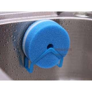 約翰家庭百貨》【AA210】洗碗布吸盤掛架 抹布架 海綿架 菜瓜布架 隨機出貨