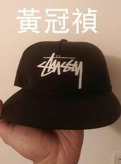 stussy黑帽