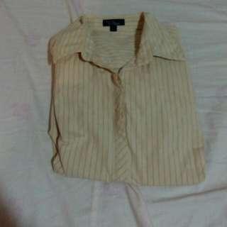 Bossini直條紋襯衫