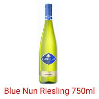 Blue Nun Riesling 750ml (White Wine)  *Please note this item only for 18 years old and above