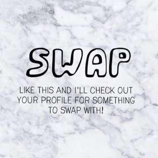SWAPS ANYONE?