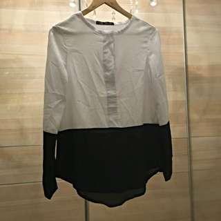 [二手]簡約黑白襯衫