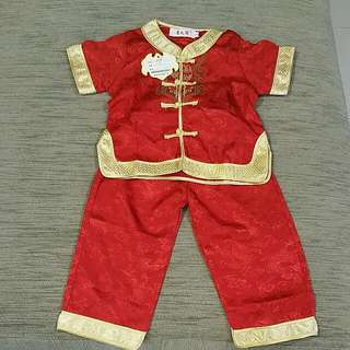 Toddler Chinese New Year Clothes (Brand New)