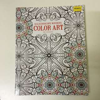 New! Colour Book Art For Everyone