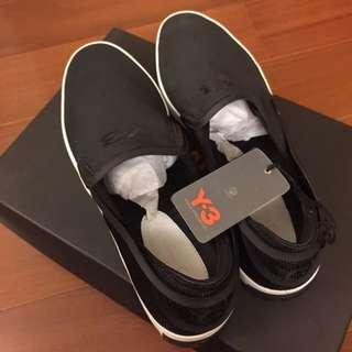 Y-3 Y3 Laver Slip On 懶人鞋 至尊鞋 黑色 山本耀司 AQ5502