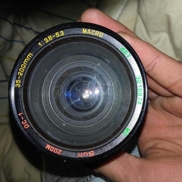 變焦35-200m 相機鏡頭  賣6百