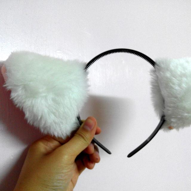 貓耳朵 髮箍